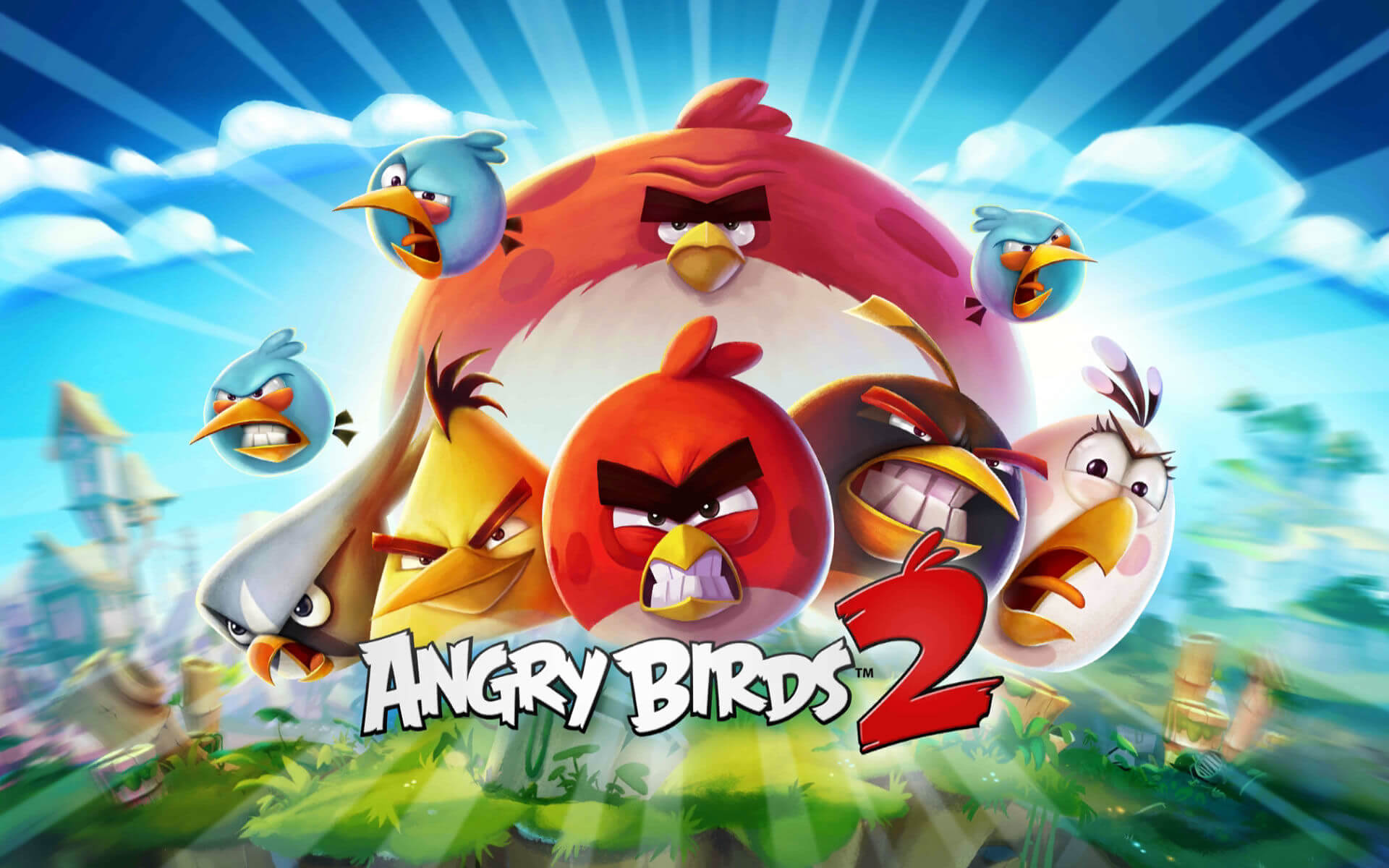 angry birds 2 features