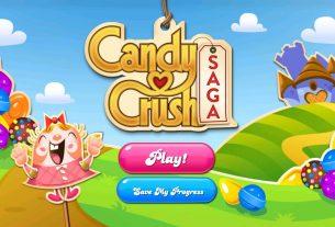 candy crush saga addicting game