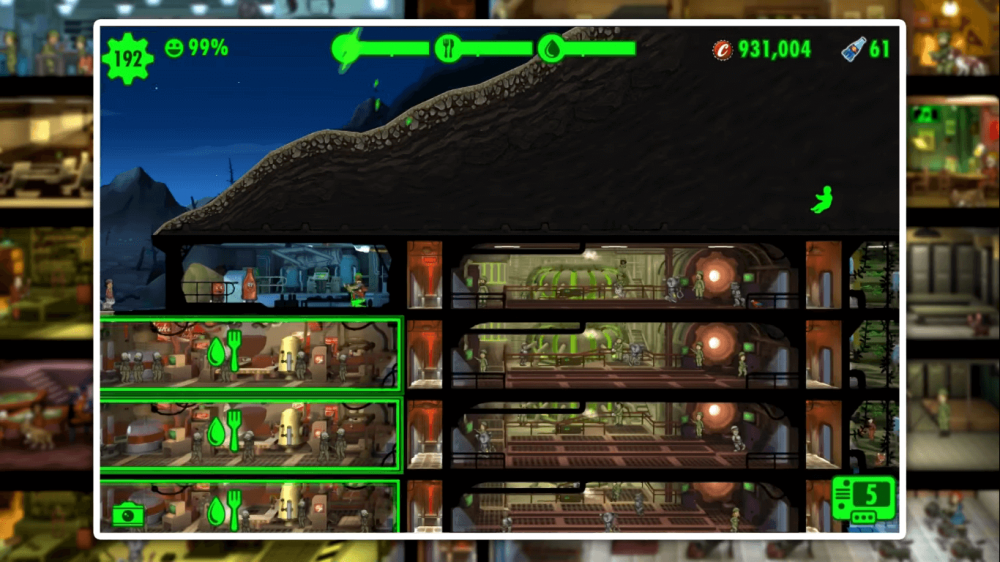 fallout shelter legendary dwellers game play