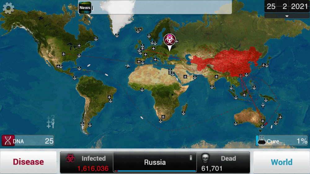 plague inc getting started