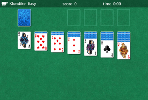 solitaire relaxing game play