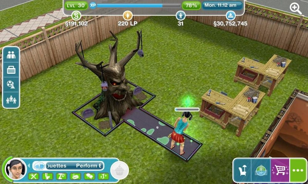 the sims freeplay furniture updates