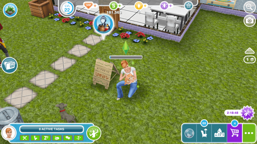the sims freeplay pets updates