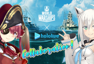 world of warships hololive