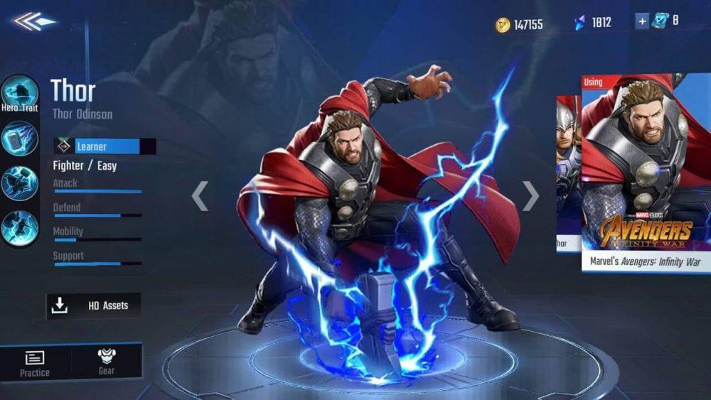 Thor_Marvel_Super_War_Character