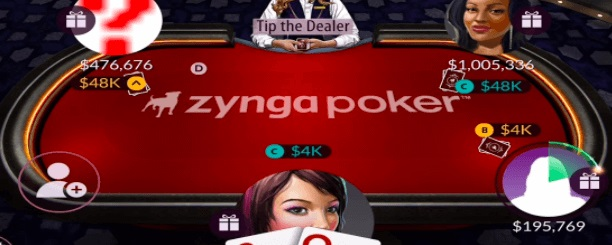 Zinga-Poker- Gameplay