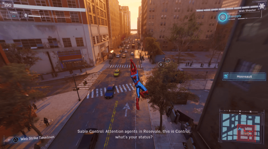 marvel-spiderman-gameplay