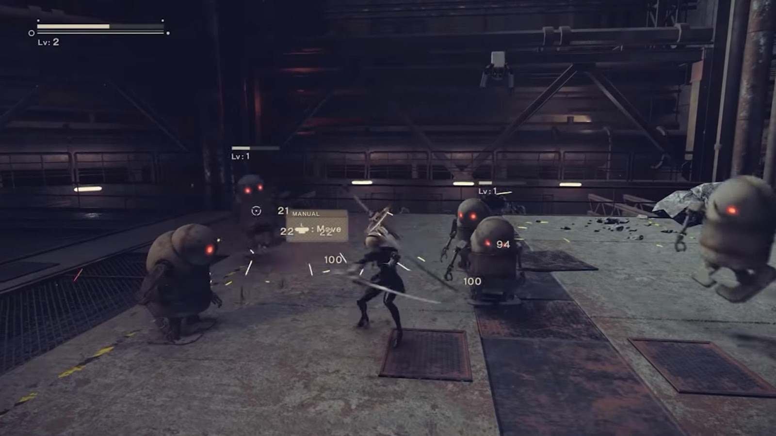 Nier Automata Blade Fight
