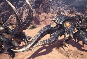 Monster Hunter World Dragons