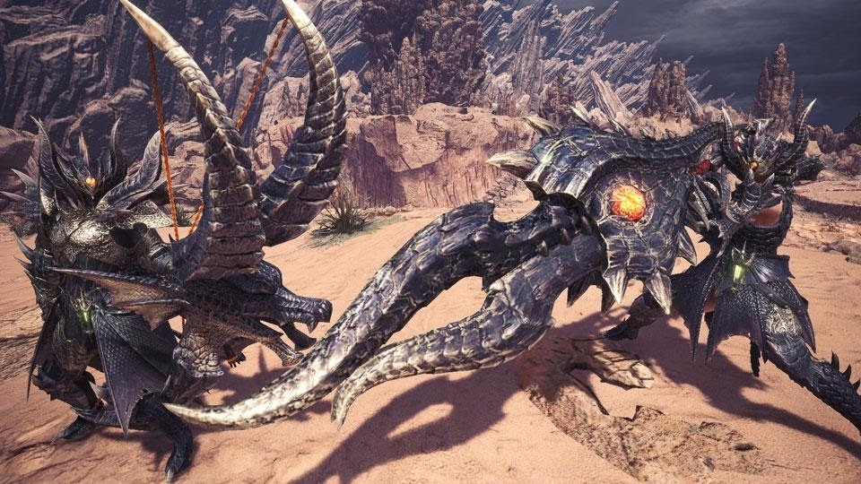 Monster Hunter World Dragons