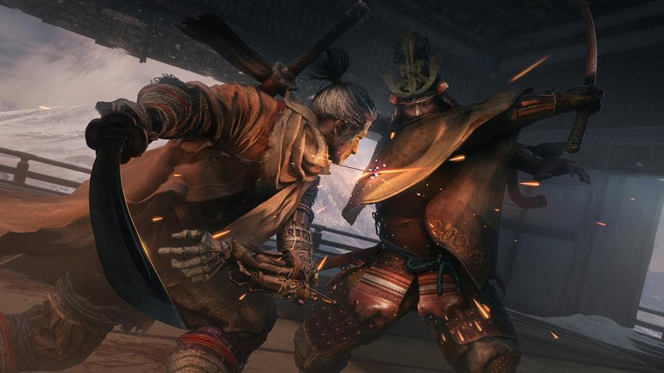 Sekiro: Shadows Die Twice Character Fight