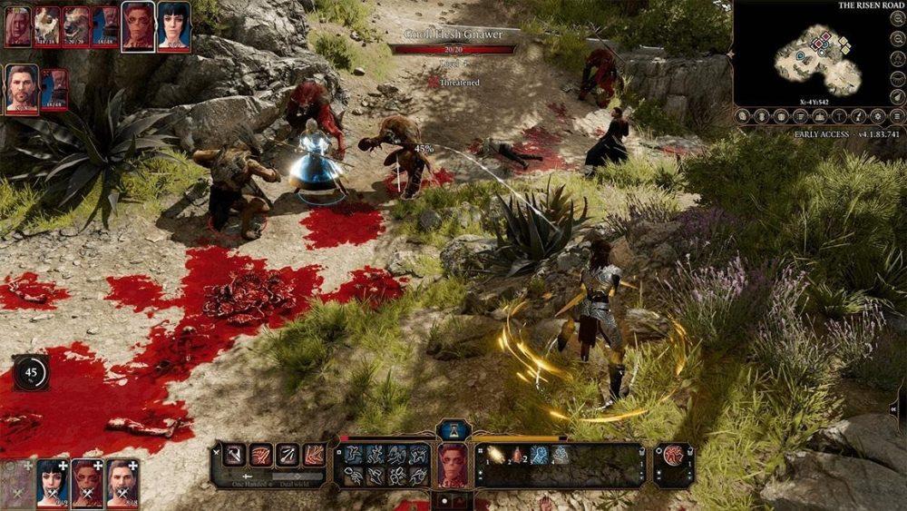 Baldurs Gate Gameplay