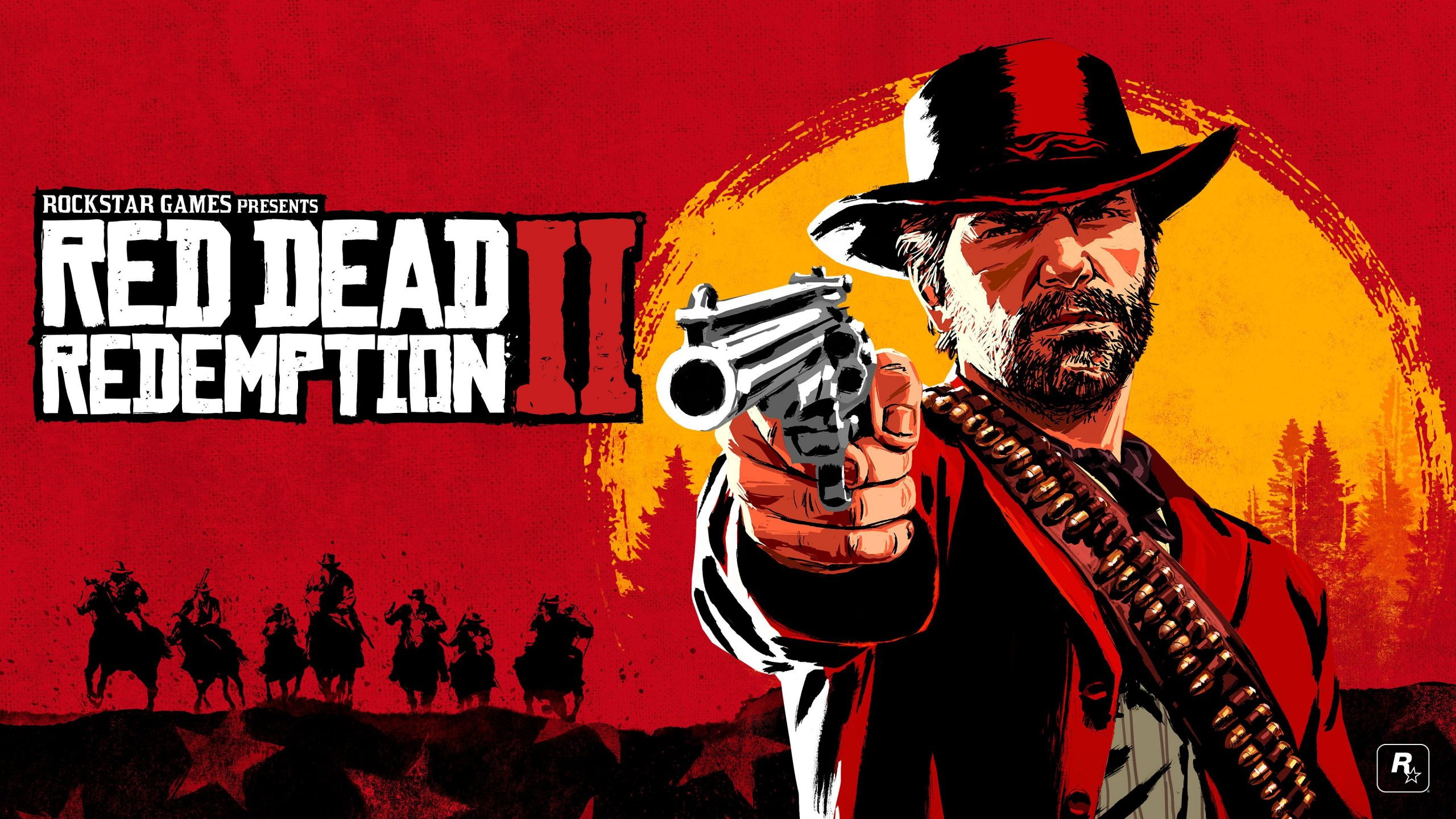 Red Redemption 2 Wallpaper