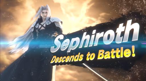 the game awards 2020 super smash bros sephiroth