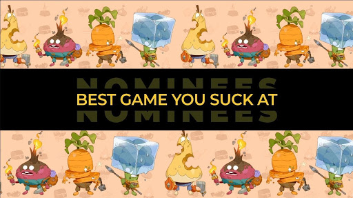 Best Game You Suck at Award