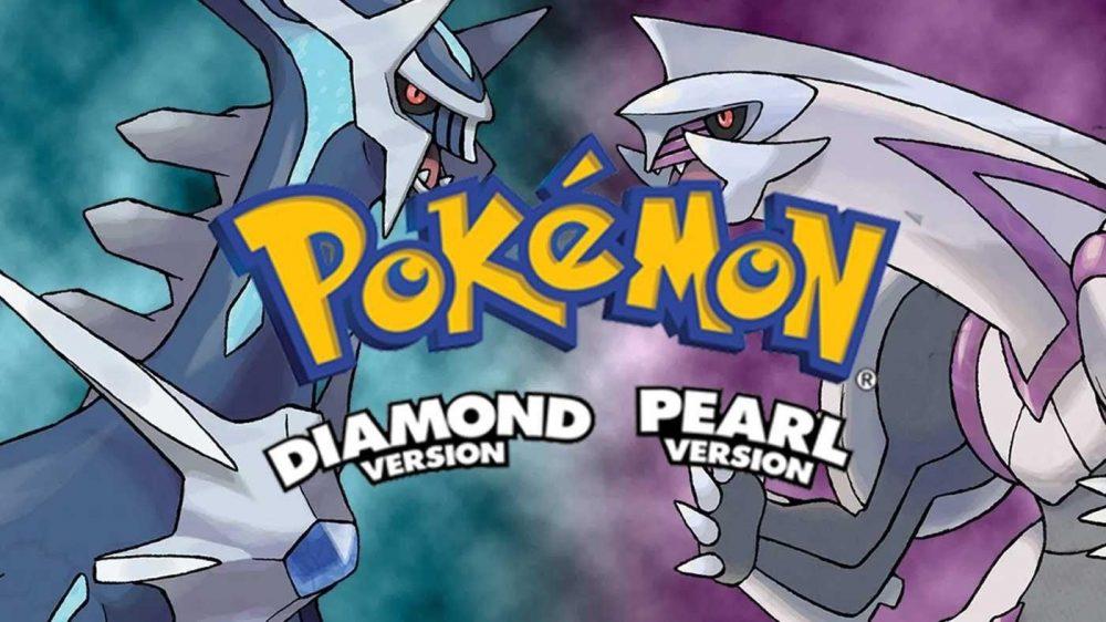 Pokemon Diamond and Pearl Version
