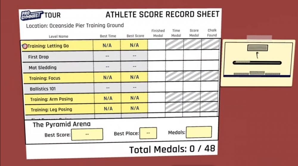 Pro Gymnast Game Tutorial