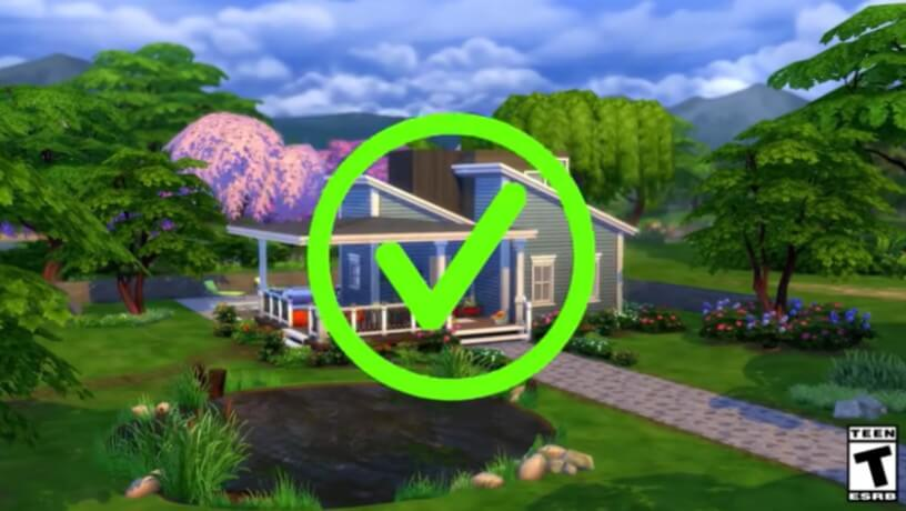 The Sims 4 Tiny Living cover