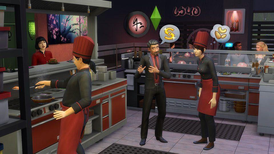 The Sims 4 Hiring
