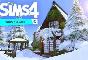 The Sims 4 Snowy Escape Feature