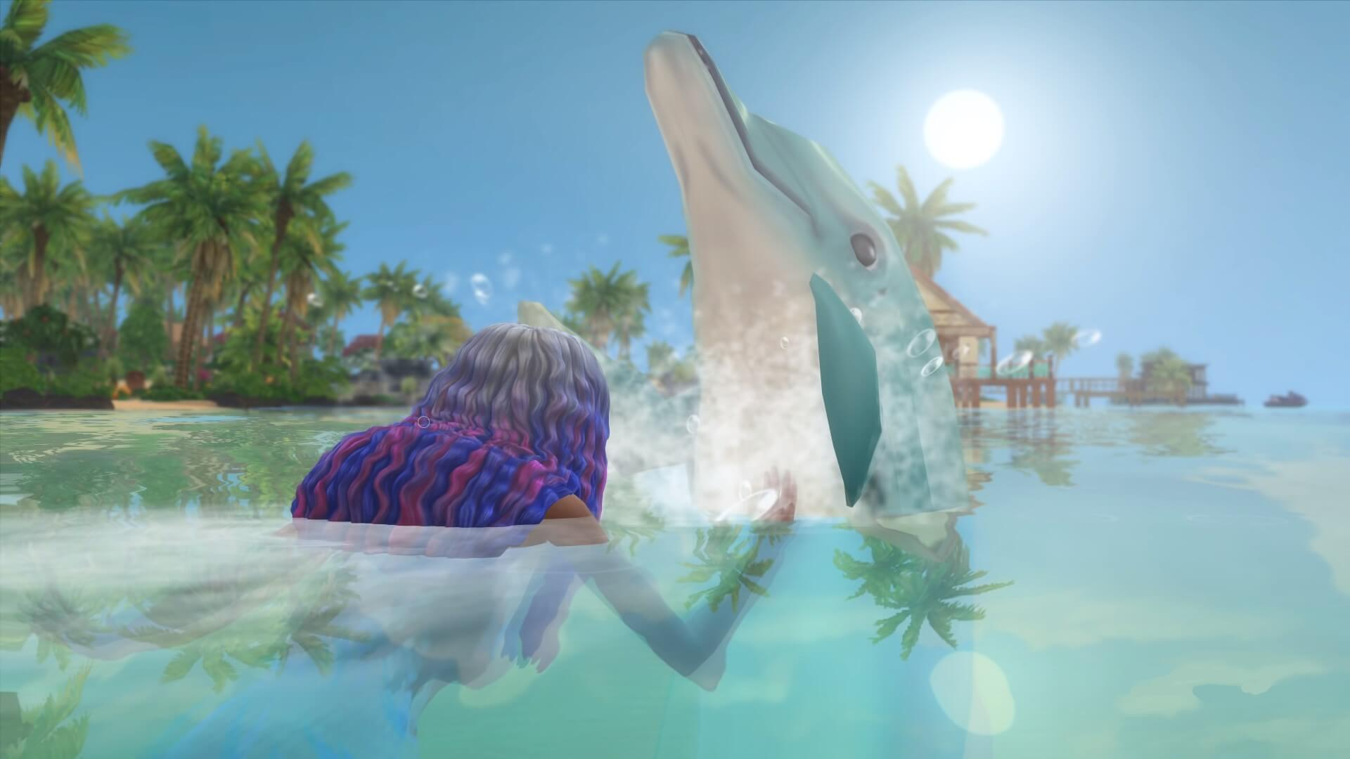 The Sims 4 Dolphin