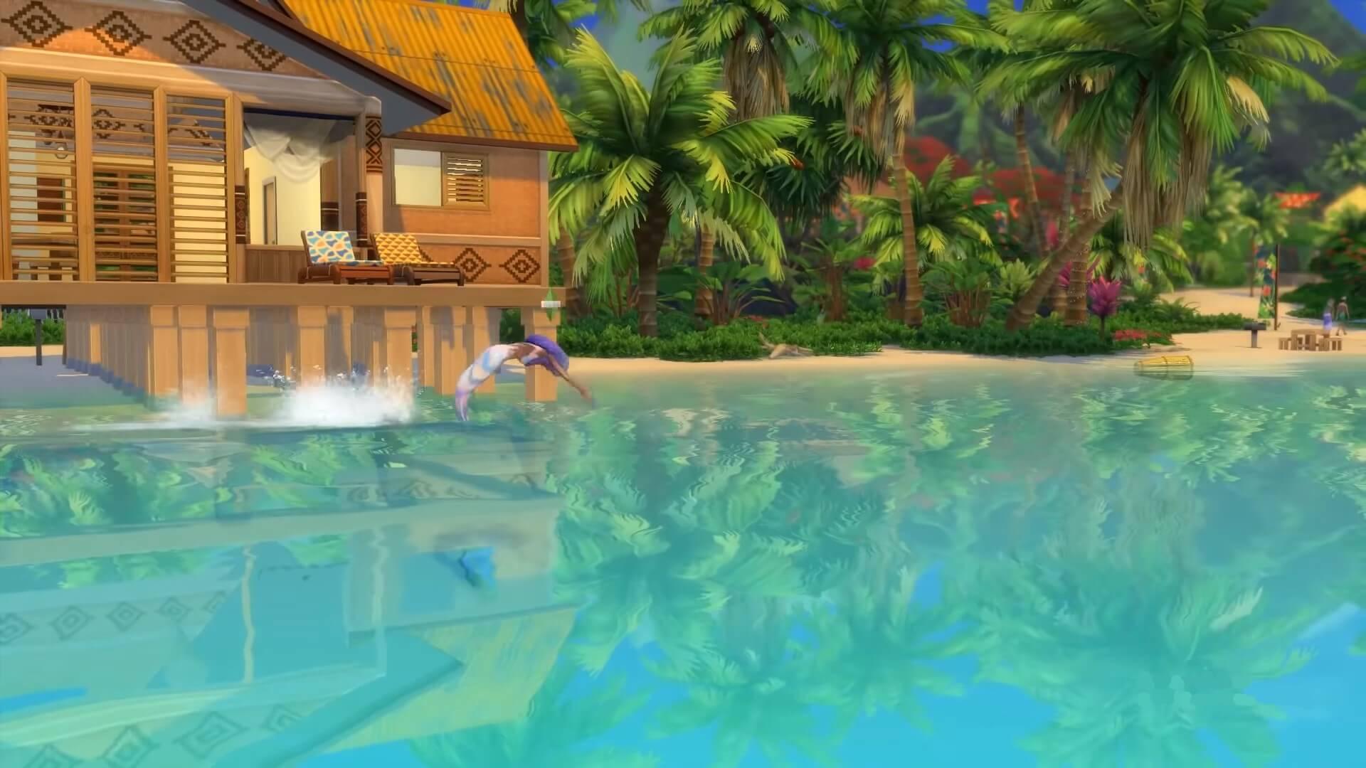 The Sims 4 Mermaid