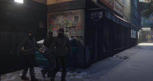 GTA Five Heist Game