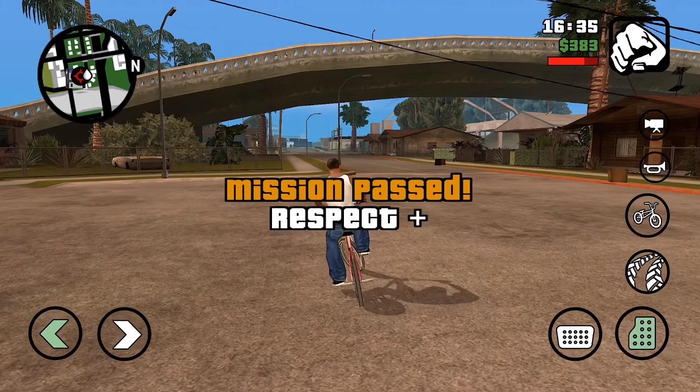 GTA San Andreas Mission Accomplished