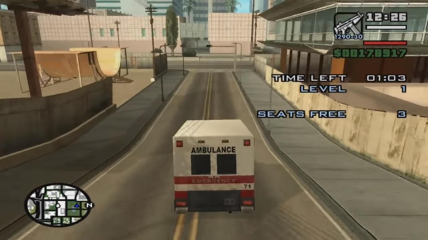 GTA San Andreas Paramedic Mission