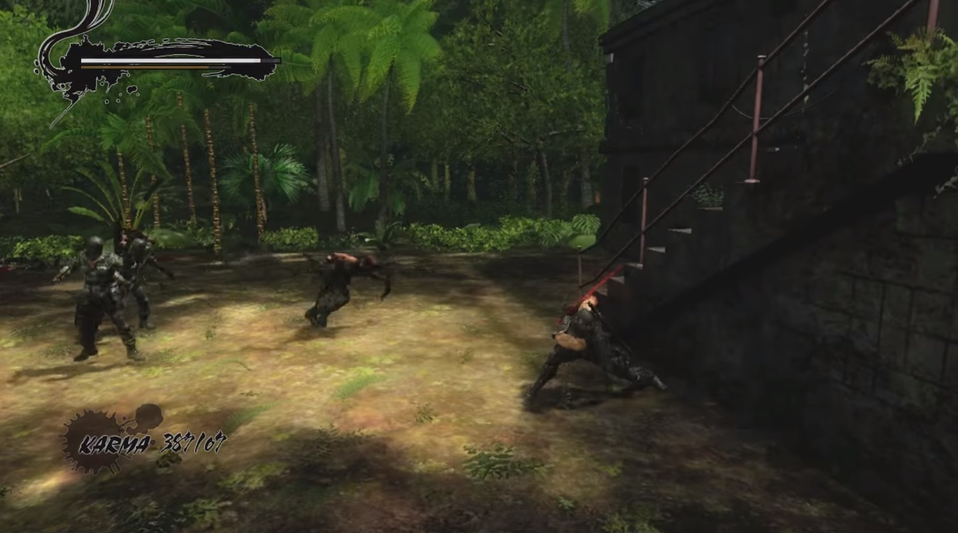 Ninja Gaiden Gameplay 2
