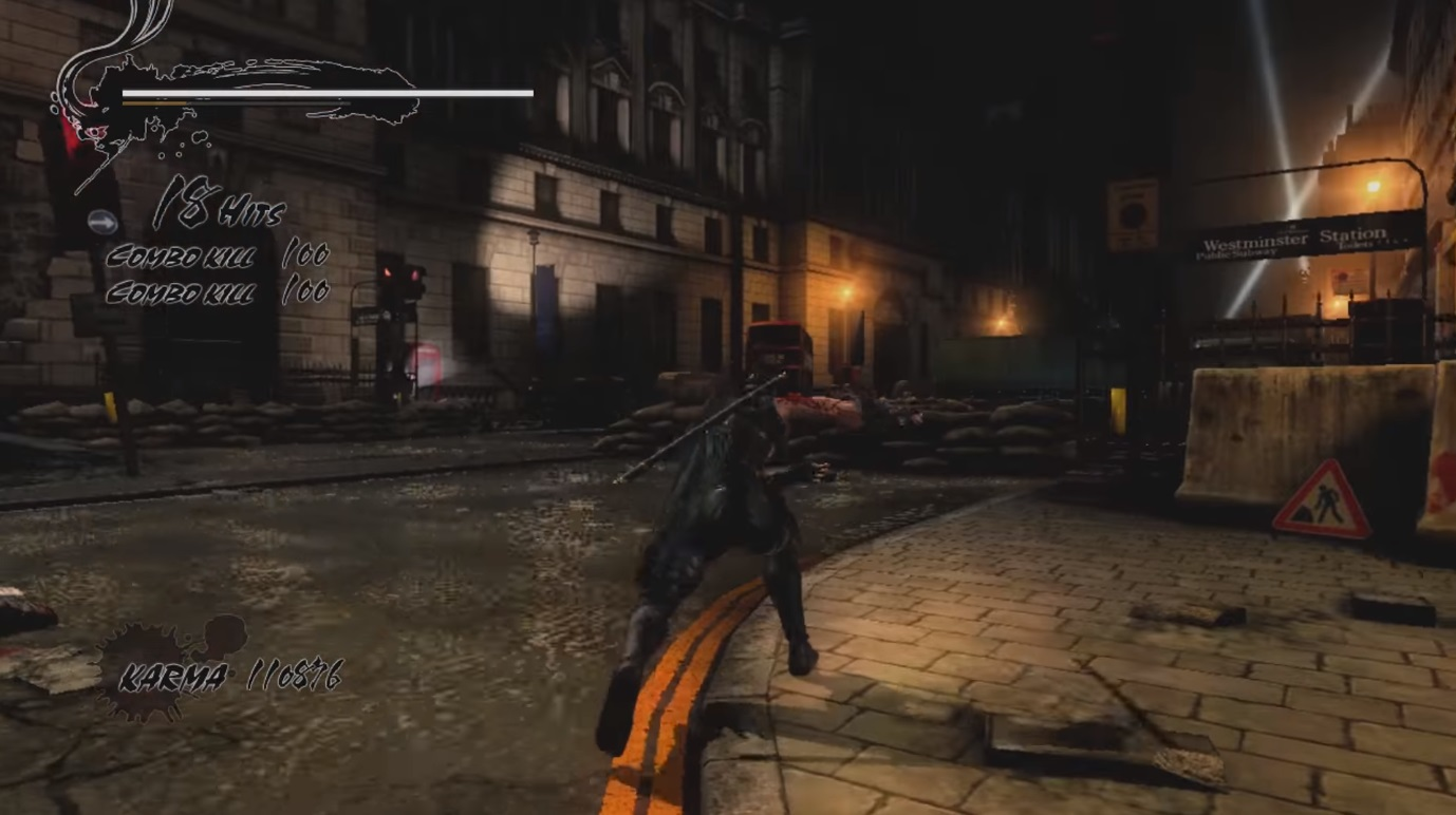 Ninja Gaiden Gameplay