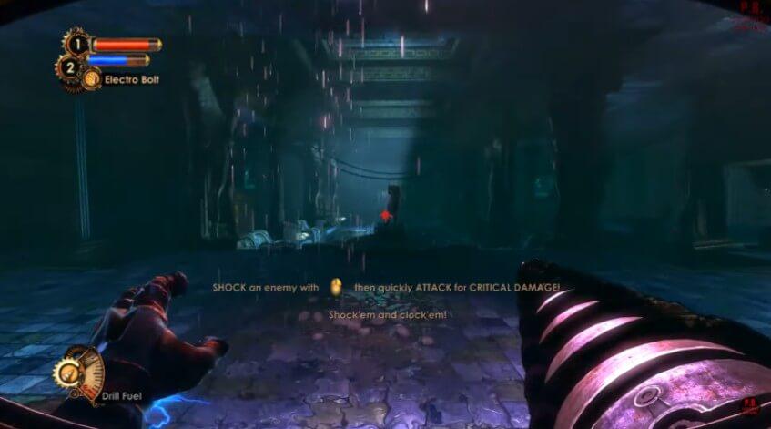Bioshock 2 gameplay