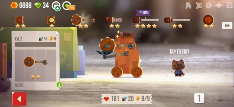 CATS Crash Arena Turbo Stars gameplay