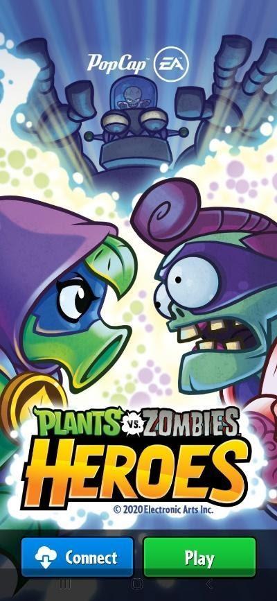 plants vs zombies heroes game
