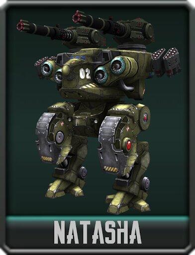 war robots natasha