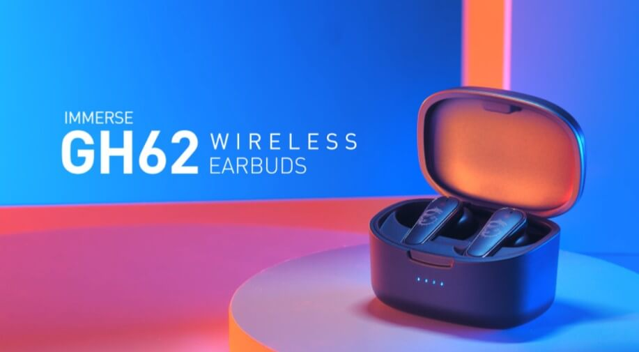 MSI Immerse Wireless gaming earbuds