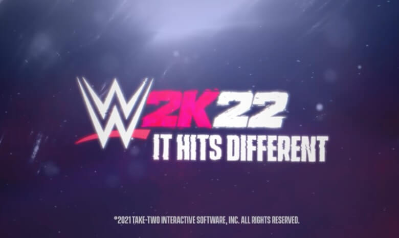 WWE 2K22 cover