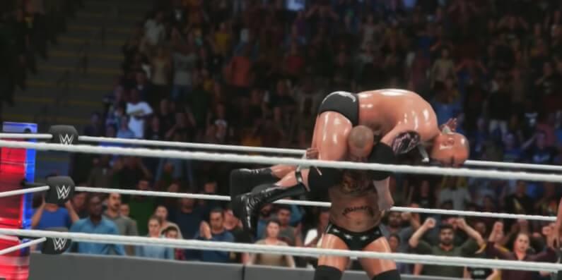 WWE 2K22 screenshot