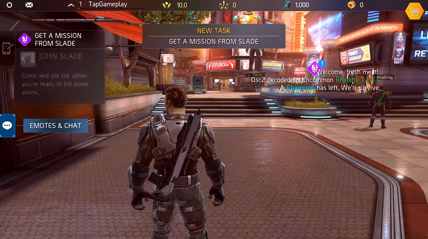 Shadowgun Legends Android game