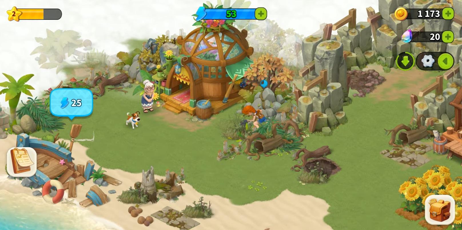 Family Farm Adventure Farming RPG
