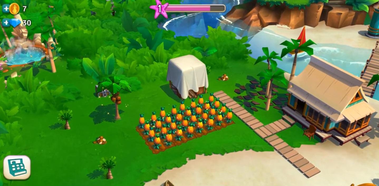 Farmville Tropic Escape Farming RPG