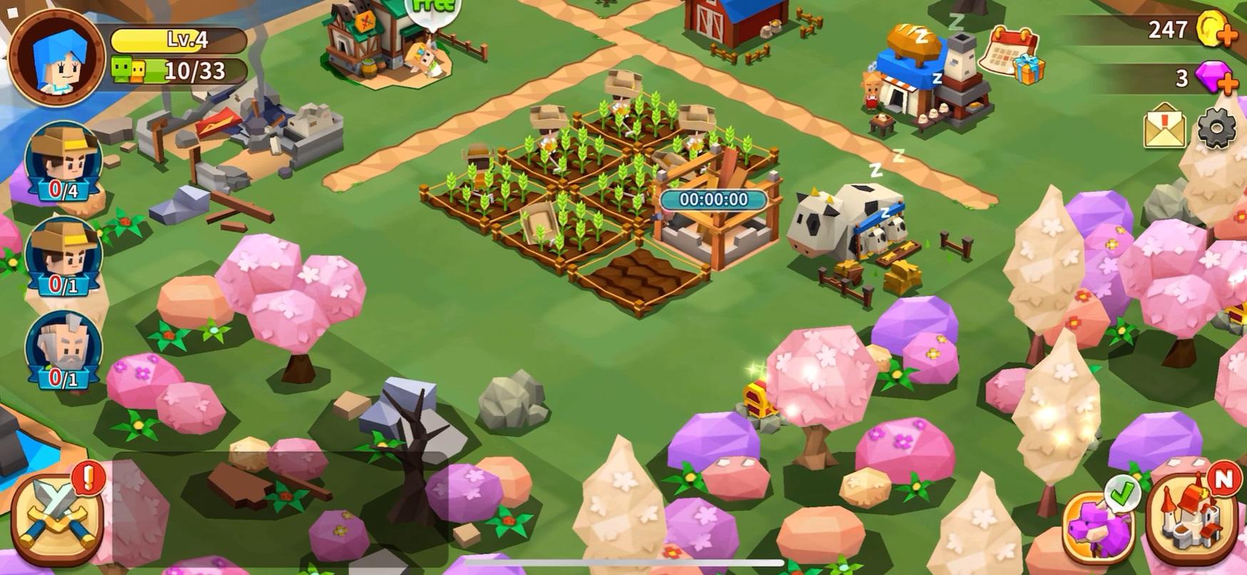 Garena Fantasy Town Farming RPG