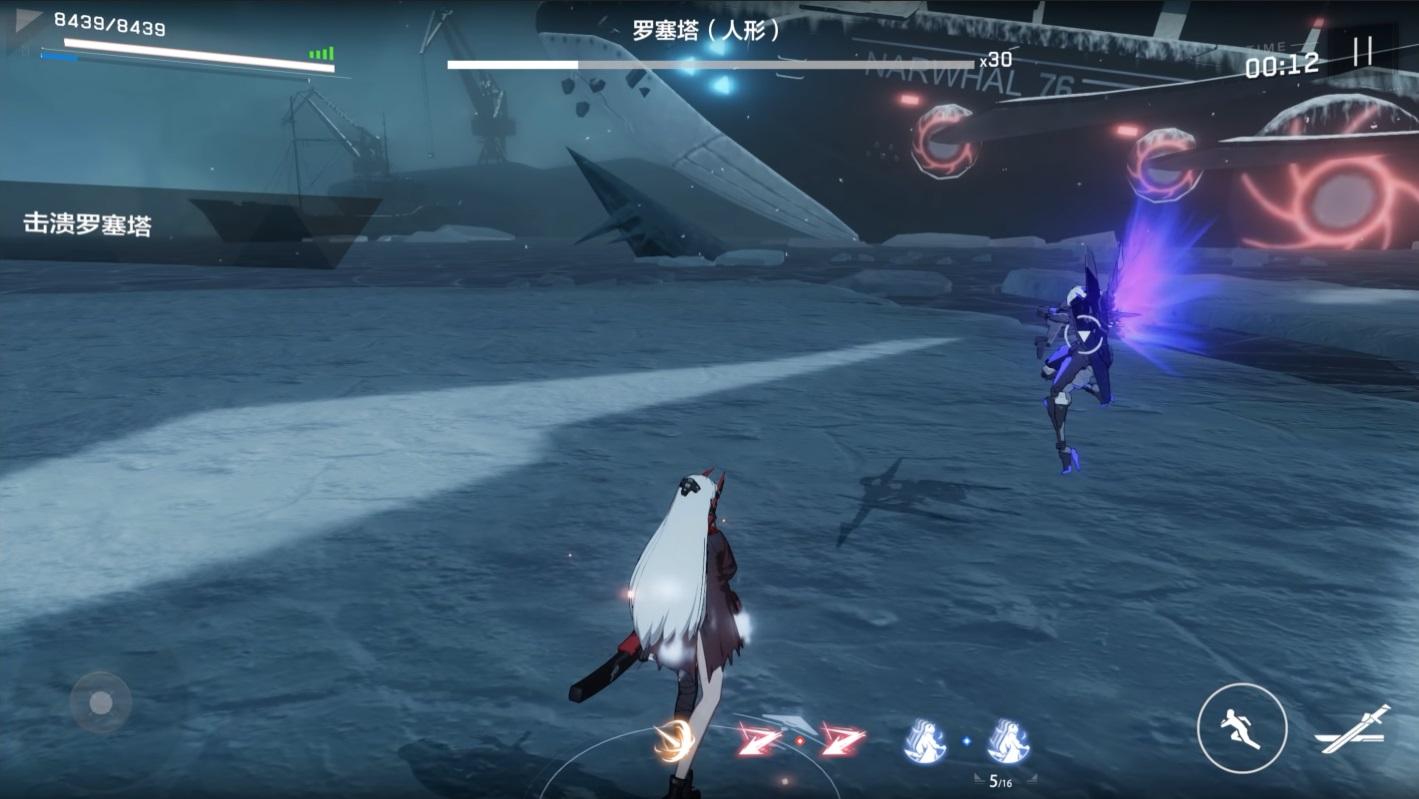Punishing Gray Raven Boss Battle