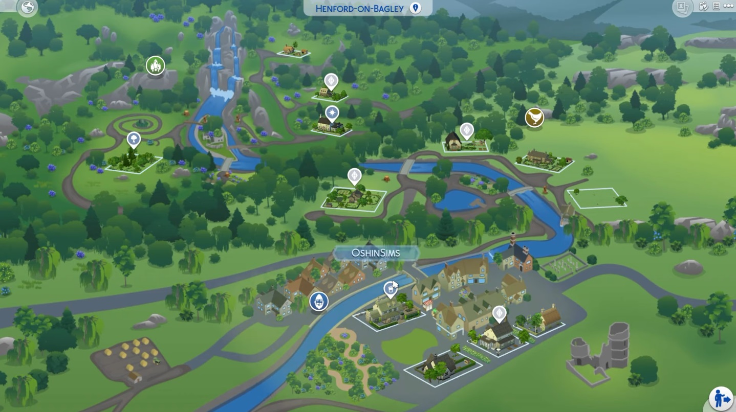 Sims 4 Cottage Living Henford-on-Bagley