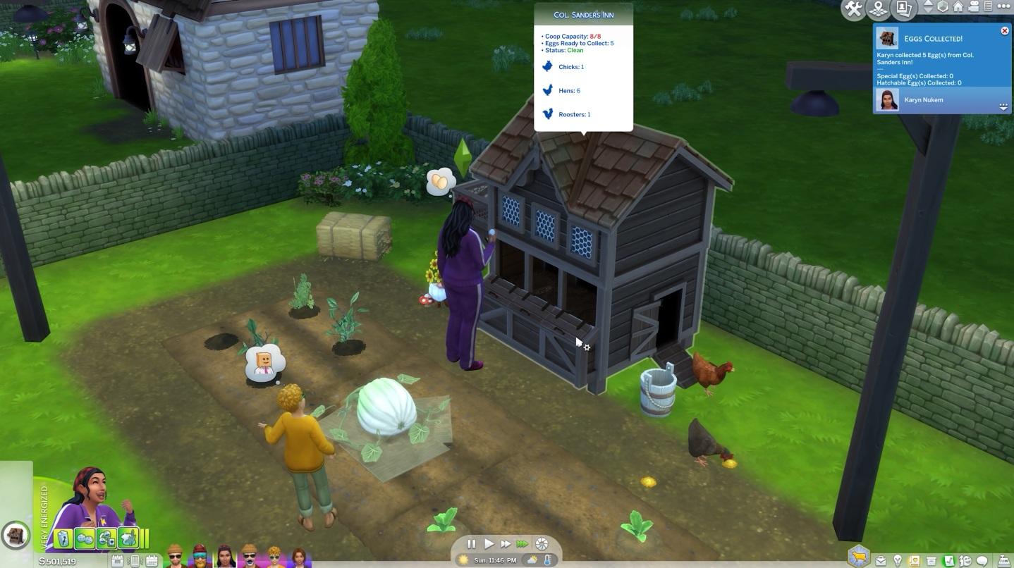 Sims 4 Cottage Living Village Life