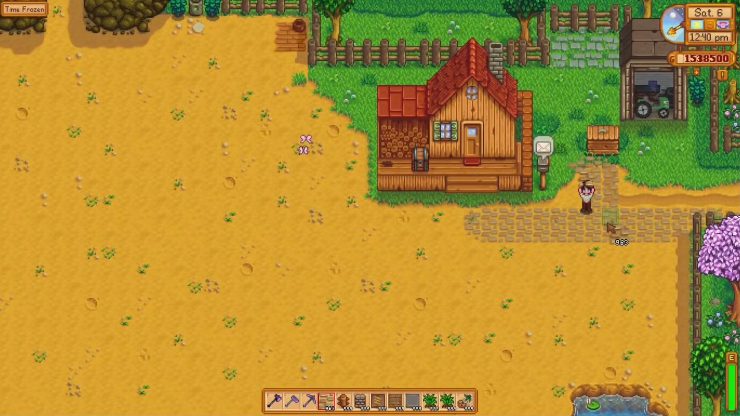Stardew Valley Plan Farm Layout
