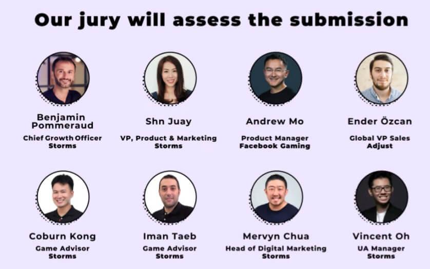 Storm the World Jury